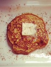 Gluten free sweet potato pancakes  Made these for the kids the other morning, they loved them, I loved them. Very easy and very yummy.