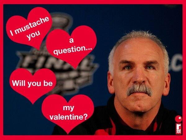 happy valentine's day from the chicago blackhawks! | blackhawks, Ideas