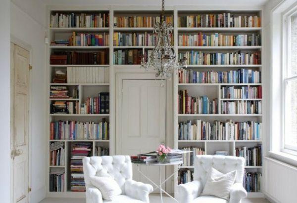 fabelhaft Bücherregale weiß sofa