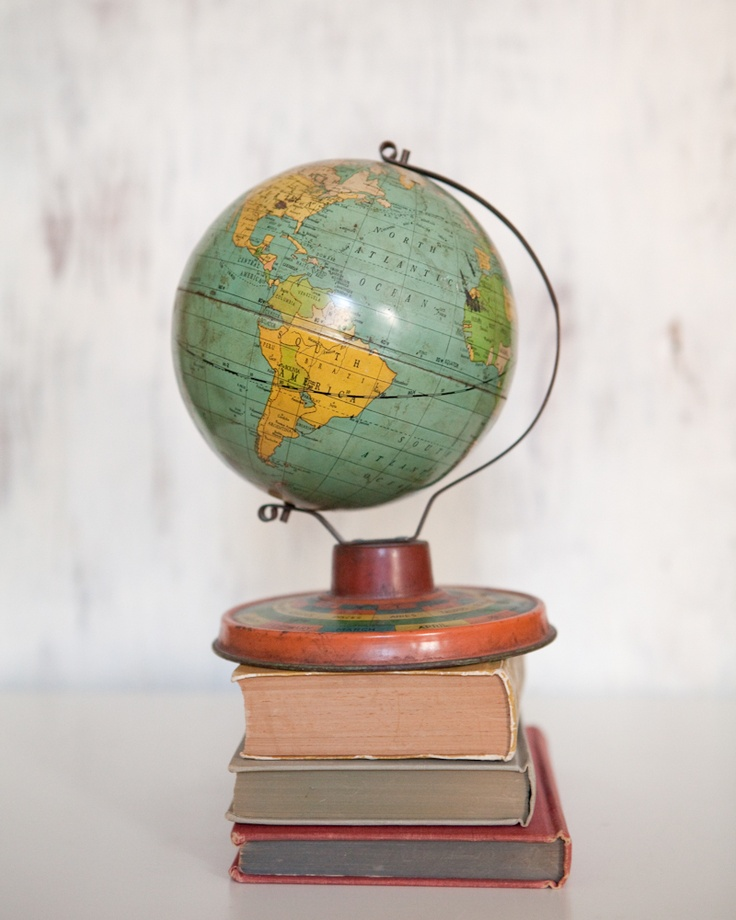610 best around the globe images on pinterest globes places to a vintage globe gumiabroncs Images