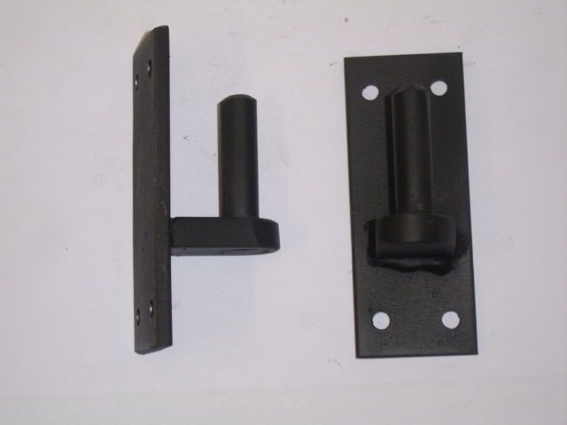 Wrought Iron Gate Hinge Bracket 12mm Pin Iron Gates