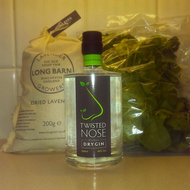 Twisted Nose Gin made in Hampshire with Long Barn Lavender