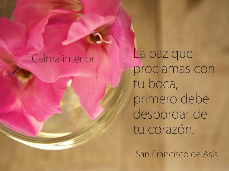 Frases De Paz: San Francisco De Asis