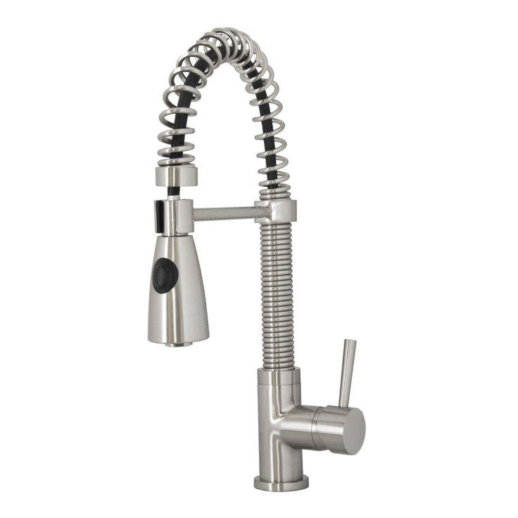 Virtu USA PSK-1007-BN Ceto Brushed Nickel Single Handle Faucet