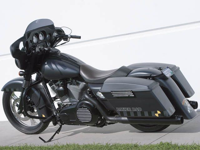 Hot Bike Baggers Magazine - sweet custom Electra Glide