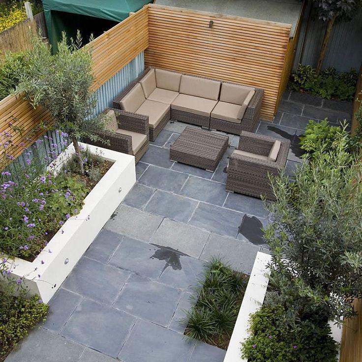 Petit salon de jardin design & végétal | #basileek #gardenbuilders