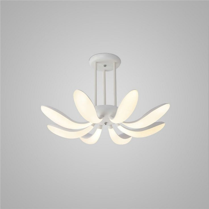 LEDシーリングライト 照明器具 リビング照明 寝室照明 天井照明 おしゃれ照明 花弁型 リモコン付 LED対応