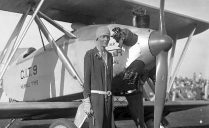 a biography of amelia earhart the first woman to cross the atlantic by plane On this day in history: aviator amelia earhart was the first woman to cross the atlantic by air - on june 18, 1928.