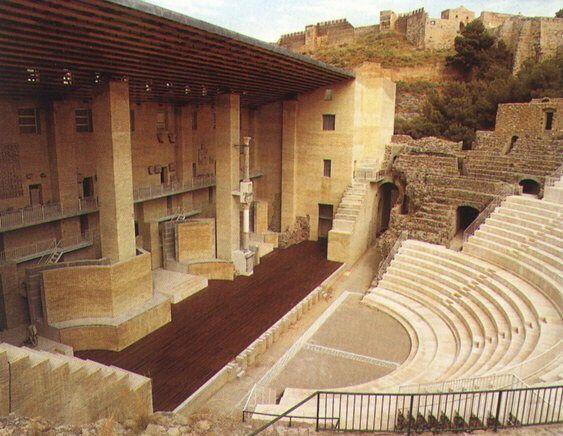 Roman teatro de Sagunto