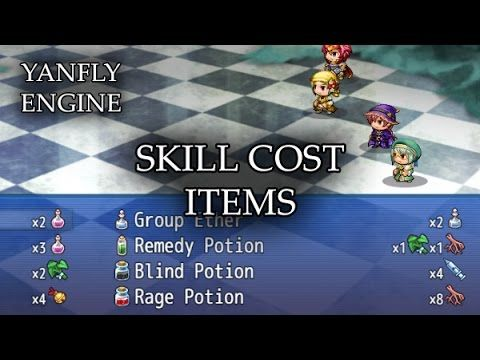 Skill Core >> Skill Cost Items Released: 2015 12 12 This plugin
