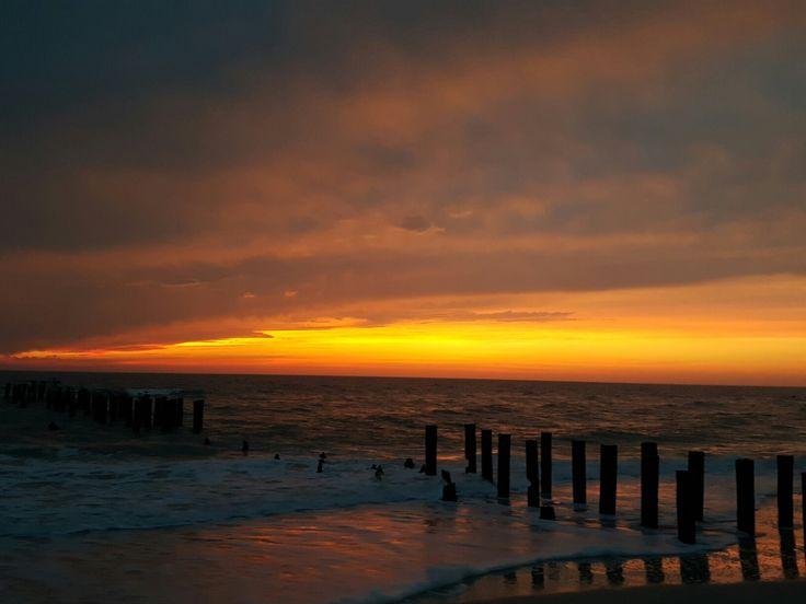 coucher de soleil à Naples, Floride