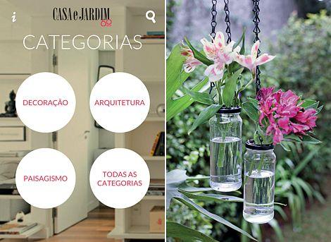 Novo aplicativo de Casa e Jardim