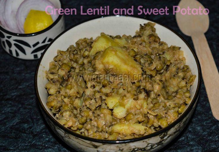 Green Lentil and Sweet Potato