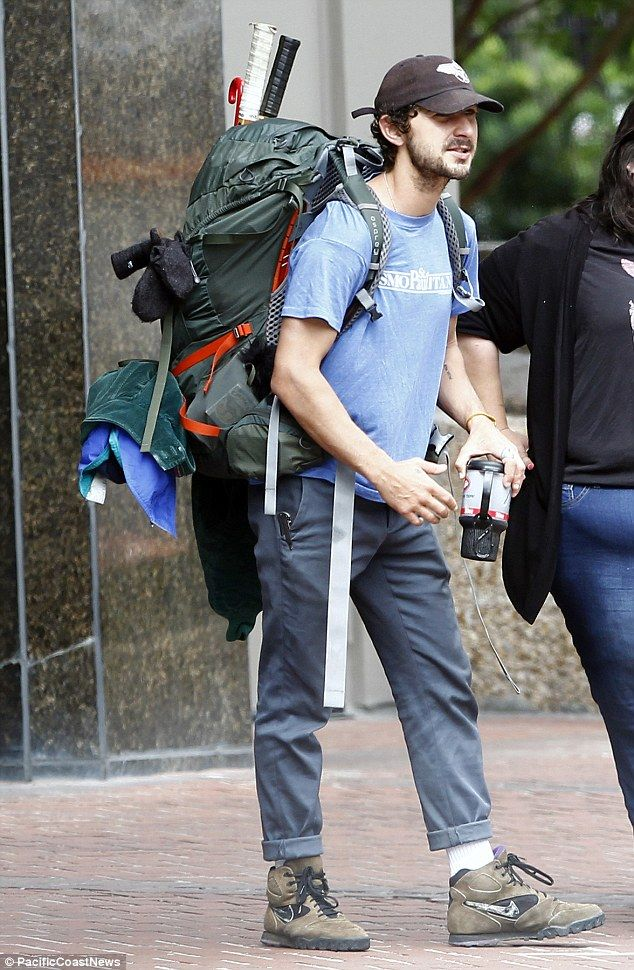 Shia LaBeouf Got An Enormous Tattoo Covering His ENTIRE