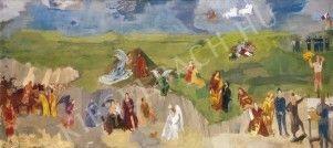 Bernáth Aurél (1895-1982) híres magyar festő, grafikus - Történelem Kieselbach