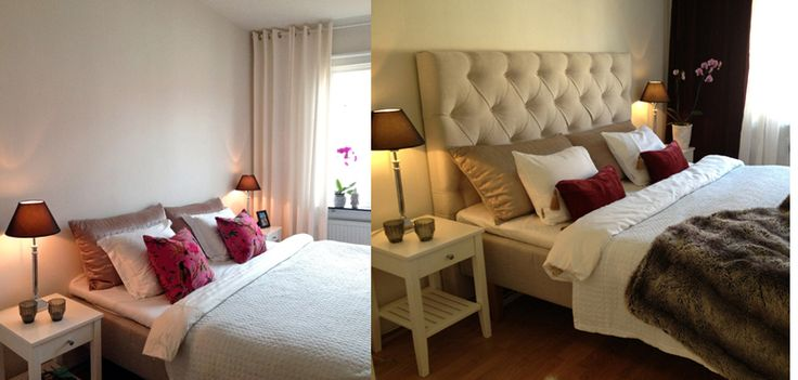MY BEDROOM BEFORE AFTER:)