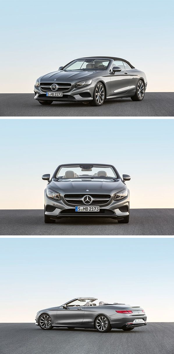 The Mercedes-Benz S-Class Cabriolet offers a distinctive, sensual and exclusive design, the cutting-edge technology of the S-Class and a comprehensive warmth and wind protection concept which includes intelligent climate control for convertibles.