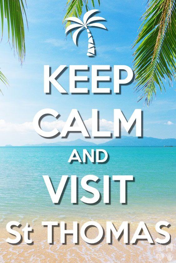 Keep Calm | Visit St. Thomas (USVI)