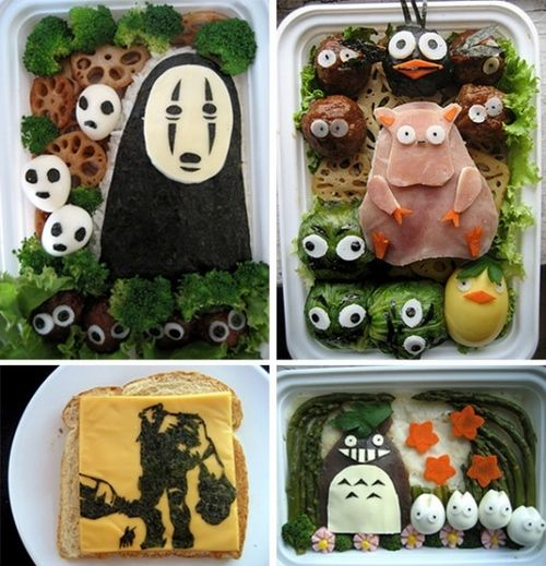 Studio Ghibli AND Shadow of the Colossus #bento? Yes, please!