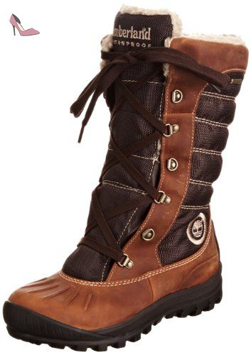Timberland Mount Holly Ftw_ek Mount Holly F/l Lace Duck Wp Boot, Bottes de Neige Femme, Braun (Burnt Orange), 36 EU - Chaussures timberland (*Partner-Link)