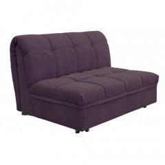 Прямой диван Crocus Автограф 130 см Фиолетовый