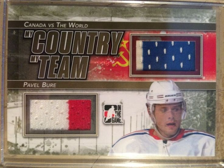 2011-12 ITG CvtW My Country My Team Gold Version #MCMT-06 Pavel Bure /10 SSP