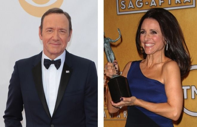 Kevin Spacey and Julia Louis Dreyfus In Gender Bending Role Change - http://celeb.im/V250Fr