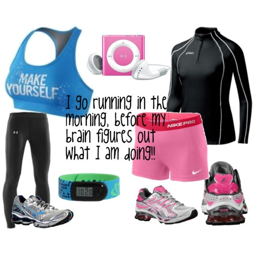 New running clothes - good inspiration to RUN.Fit Workout, Inspiration, Running Gears, Sports Bras, Clothes, Clothing, Workout Gears, Fiddle Fit Get Fit, Fit Barbie