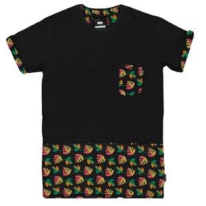T-Shirt Pocket Columbia Schwarz