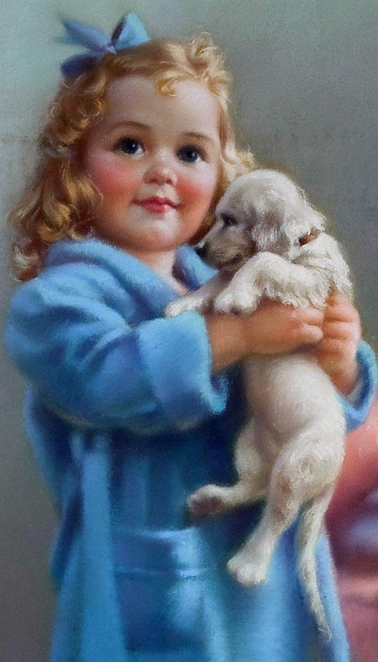 454 Best Cocker Art Images On Pinterest Dog Art English