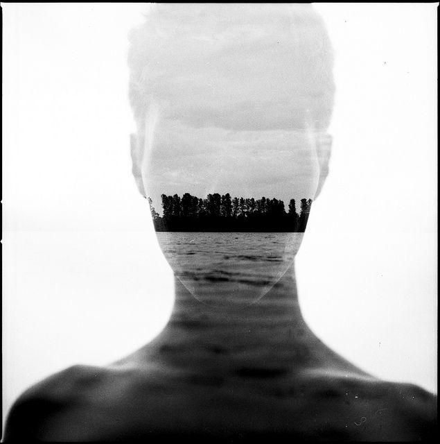 Interesting & beautiful analog double exposure by German photographer Florian Imgrund