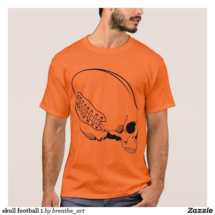 skull football 1 T-Shirt