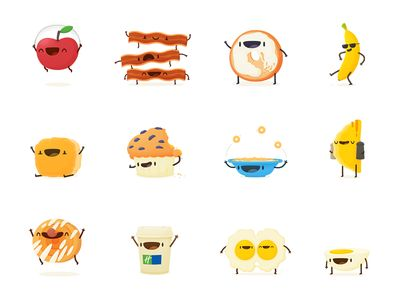 Breakfast Emoji – Part I