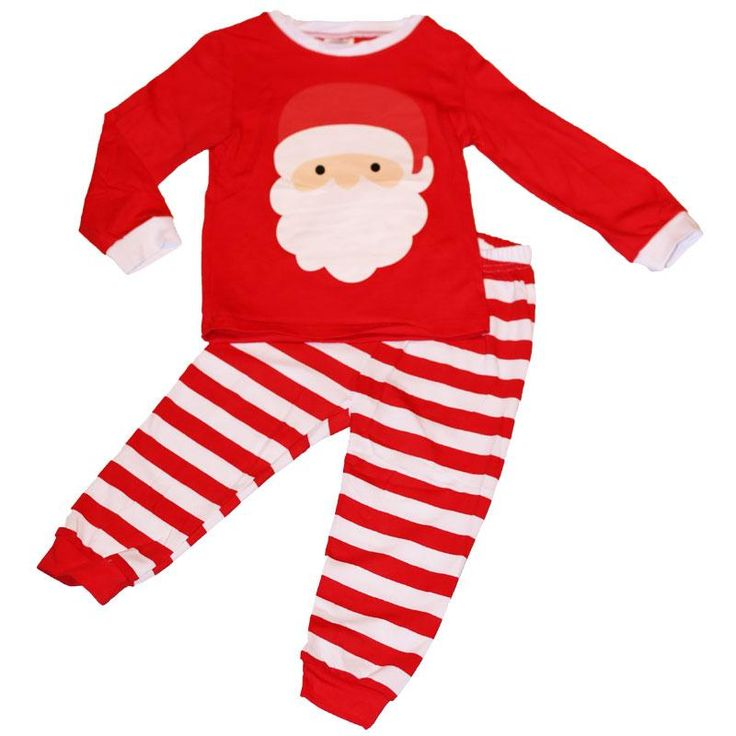 Santa Outfit Red Stripe Top And Pants