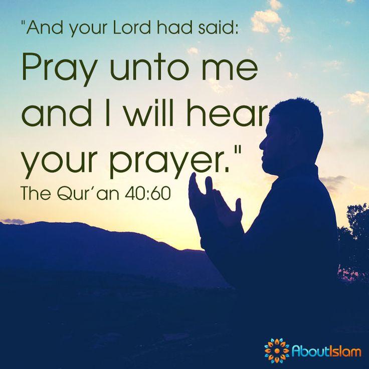 Allah WILL hear your prayer! #Quran #Prayer #Islam