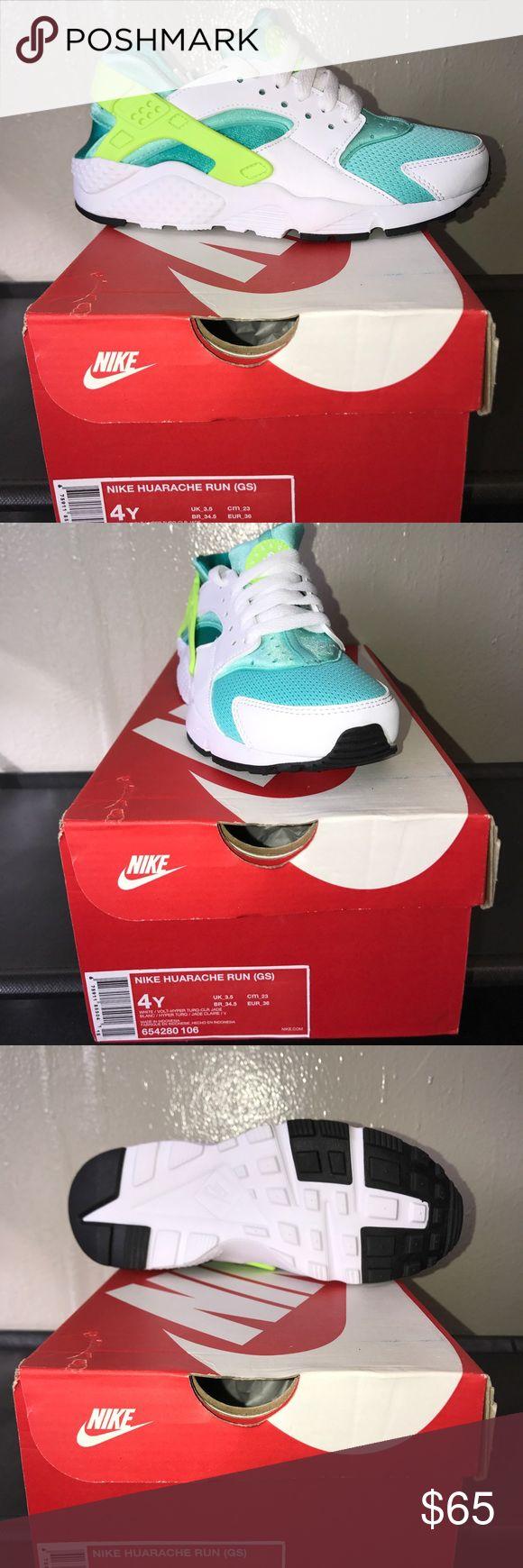 Kids Huarache Run: Grade School Size 4 Brand New in Box! Authentic Kids Huarache Run: Grade School Size 4 Nike Shoes Sneakers