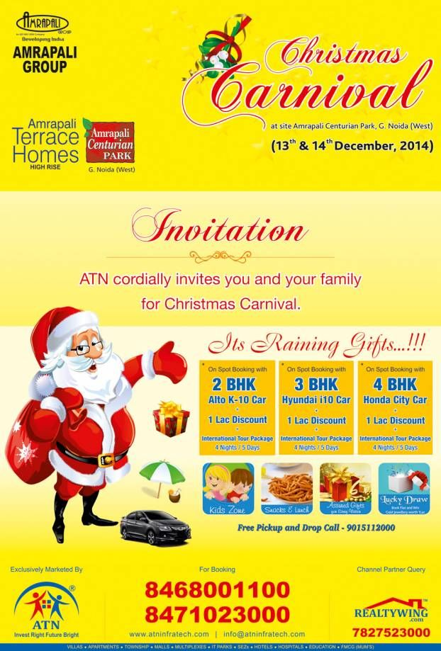 ATN Group cordially invites you and your family for Christmas Carnival.