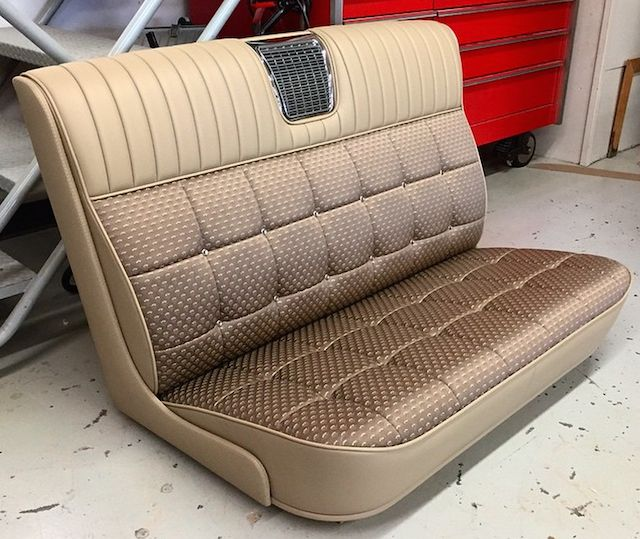 Photo Cadillac Inspired 32 Ford Bench Seat 1947