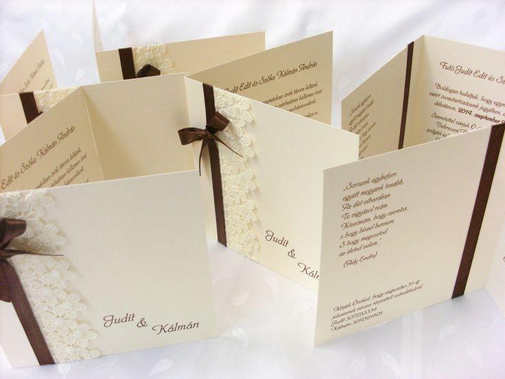 csipkés esküvői meghívó 04.01