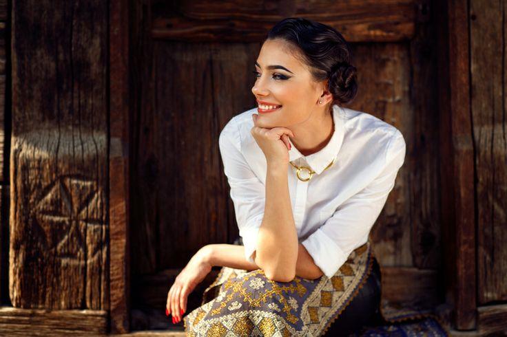 Iulia Verdes, actress   Favorite Items — The Grand Magazine Photo: Radu Enache