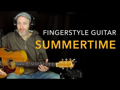 Adam Rafferty - Summertime - Solo Fingerstyle Guitar