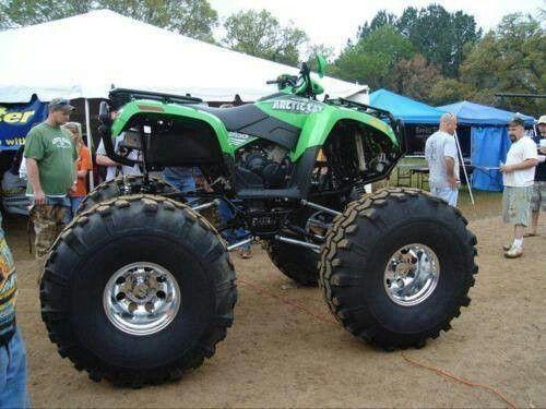 Now thats a Real 4-wheeler !!!