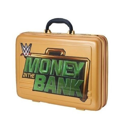 WWE GOLD MONEY IN THE BANK BRIEFCASE COMMEMORATIVE WRESTLING SETH ROLLINS WWF by WWE Modeled after the Money in the Bank briefcase suspended above the ring during the annual ladder match, and used by several Superstars to cash in their Championship contracts, now you can own your very own Money in the Bank briefcase! High quality plastic Fully-functional briefcase WWE GOLD MONEY IN THE BANK BRIEFCASE COMMEMORATIVE WRESTLING SETH ROLLINS WWF http://www.newactionfigures.com/2016/02..