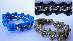 "How to Make a ""Chain and Hex Nut"" Paracord Survival Bracelet- Diamond Knot and Loop-Two Size Version https://www.youtube.com/watch?v=vNsktoHt9hE  ✿Creationsbys on Facebook -https://www.facebook.com/creationby1/... ✿Instagram -https://www.instagram.com/creations_bys/ ✿Pinterest -https://www.pinterest.com/creations_bys/ ✿Youtube Channel-http://www.youtube.com/c/CreationsByS  #paracord #hexnut #550 #bracelet #creationsbys"