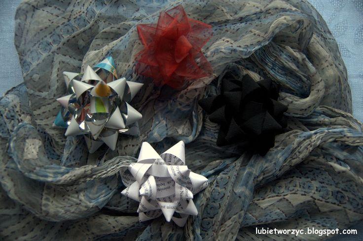 Kokarda prezentowa   #lubietworzyc #handmade #DIY #jakzrobic #howto #sposobwykonania #instrukcja #instruction #krokpokroku #craft #自制 #hecho #amano #instrucción #bricolaje #arte  #指示 #工 #kokarda #kokardaprezentowa #prezent #gift #regalo #礼品 #bow #arco #rosette