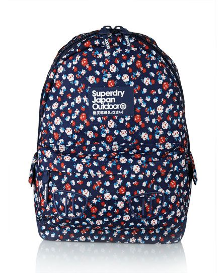 Womens - Montana Daisy Backpack in Navy | Superdry