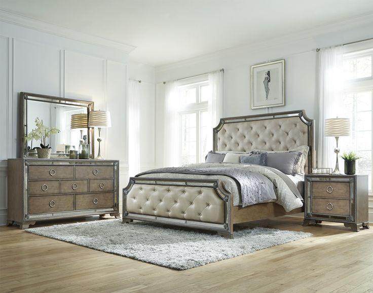 karissa king bedroom group by pulaski furniture