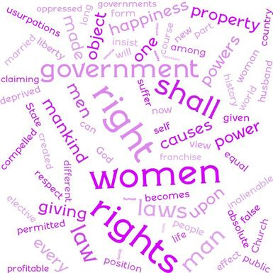 We Hold These Truths: 1848 Seneca Falls Declaration of Sentiments