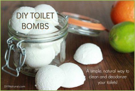 DIY Toilet Bombs Bowl Cleaner