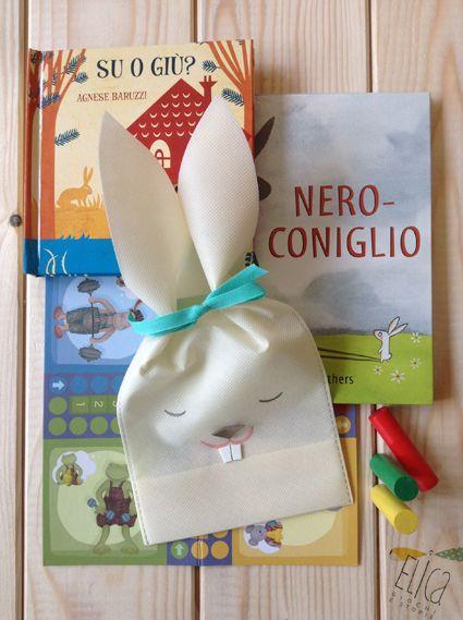 Laboratorio creativo di Pasqua: il coniglietto porta-merenda.